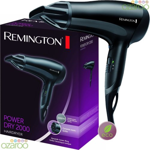 Remington Power Dry 2000 D3010 Professional Hairdryer Hair Dryer Ceramic Ionic