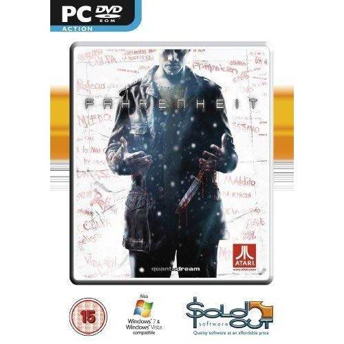 Fahrenheit (Indigo Prophecy) PC DVD Game