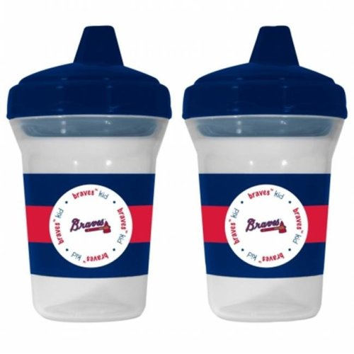 Baby Fanatic 143365 Atlanta Braves Sippy Cups 2-pack