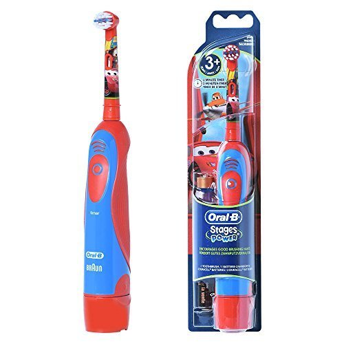 Braun ORALB 4510K Stages Power Electric Toothbrush Kids Disney Cars