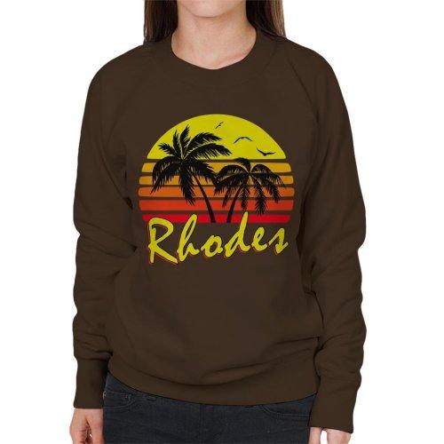 Rhodes Vintage Sun Women's Sweatshirt