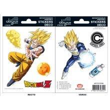Dragon Ball  Goku and Vegeta Sticker