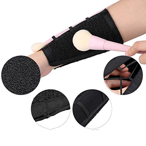 Makeup Armband Makeup Brush Color Remover Cleaner
