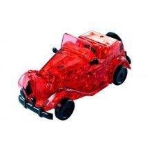 3D Plexiglas Puzzle- red Oldtimer