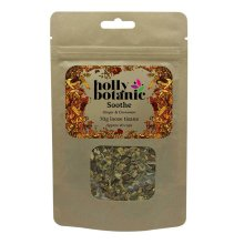 Holly Botanic Sore Throat Tisane – Soothe | Ginger Cinnamon Herbal Tea