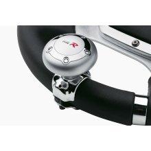 Universal Aluminium Type R Steering Aid - Ca Wheel Chrome Knob Handle Sumex -  type r car steering wheel aid chrome knob aluminium handle sumex power