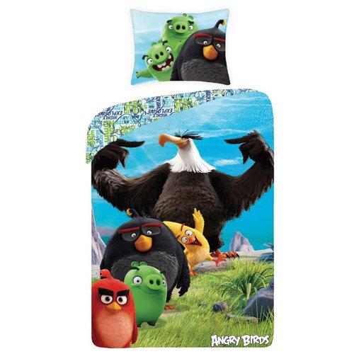 Angry Birds Rotary Single Duvet Set Bedding - Design 2