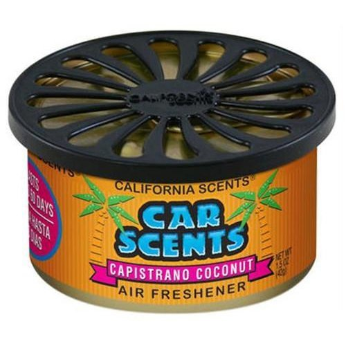 Capistrano Coconut California Scents Air Freshener Home Office Car Van Business Taxi Bus Cab Truck