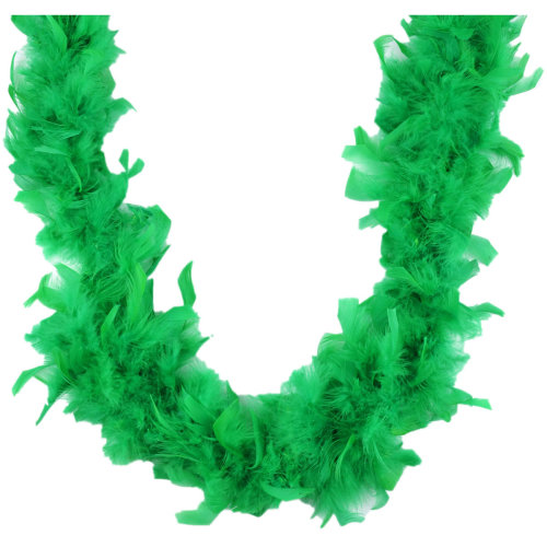 "Midwest Design Chandelle Feather Boa 72""-Kelly Green"