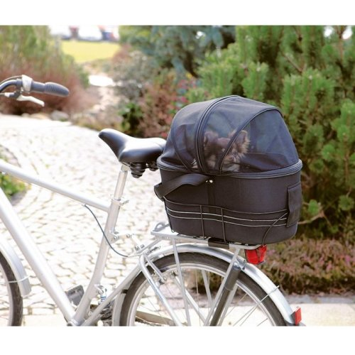 Rear Mounted Bike Basket Dog Bag Bicycle Sturdy Safe Strong Cover