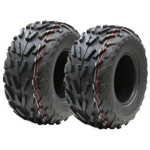 16x8.00-7 quad ATV tyres, ATV E marked, raod legal tyre - Set of 2