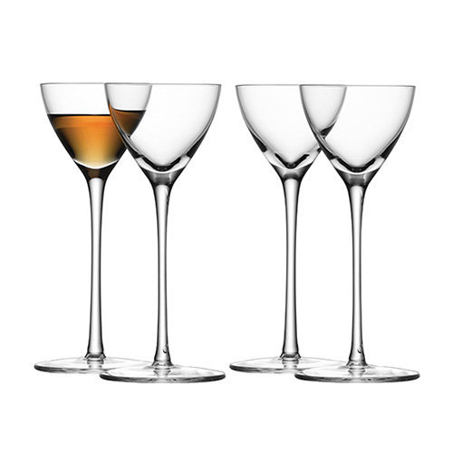 LSA Bar Liqueur Glasses 3.5oz / 100ml (Pack of 4)