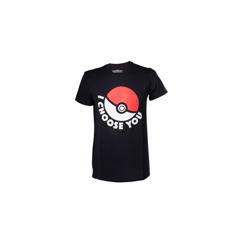f74f61fba Pokemon I Choose You Mens T-Shirt Small Black Model. TS120312POK-S ...