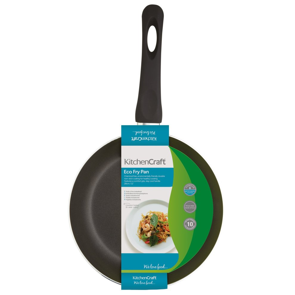 KitchenCraft PFOA-Free Eco Non-Stick Aluminium Frying Pan, 24 cm (9 5