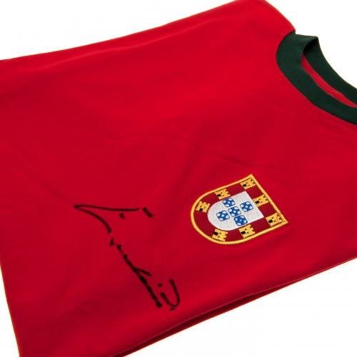 Portugal Eusebio 1966 Signed Replica Shirt