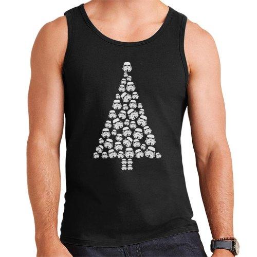 Original Stormtrooper Trooper Christmas Tree Men's Vest