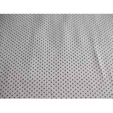 "White Spotty Polka Dot Cotton Poplin Fabric by the metre 58"" / 147cm Wide"