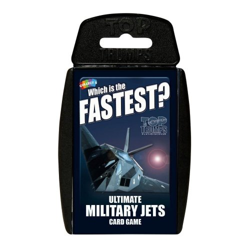 Ultimate Military Jets Top Trumps Card Game New Sealed