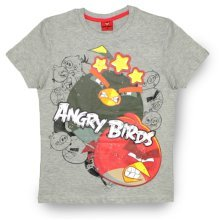 Angry Birds T Shirt - Grey
