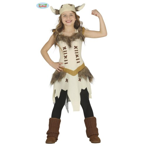 Kids Viking Warrior Girl Costume