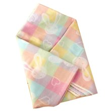 "Baby/Kids Soft Cotton Breathable Bath Towel Newborns Blanket 35.43""x37.4""(Colorful)"