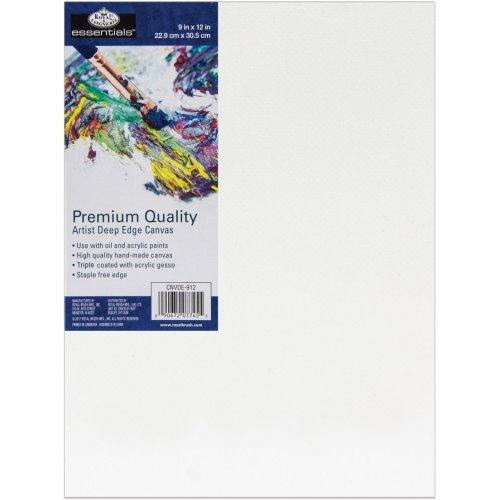 "essentials(TM) Premium Gallery Style Deep Edge Canvas-9""X12"""