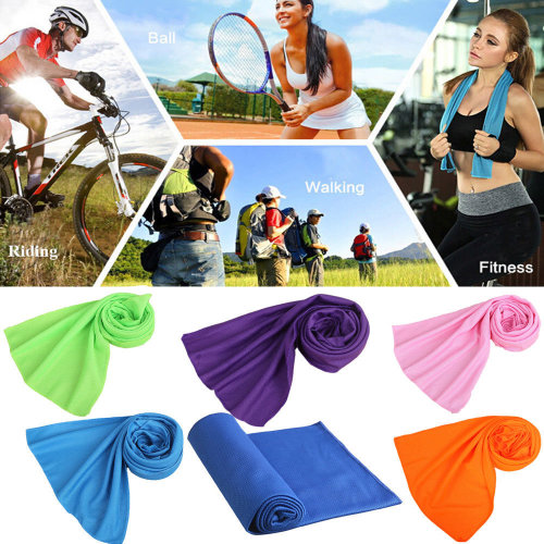 Instant Cooling Towel ICE Cold Golf Cycling Jogging Gym Sports Towel