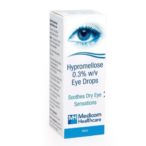 Hypromellose Eye Drops 0.3% 10ml