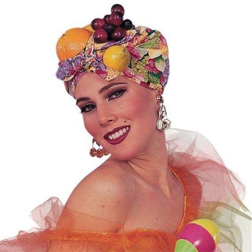 Ladies Exotic Fruit Headpiece -  fruit fancy dress hat headpiece accessory ladies miranda