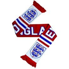 England Fan Scarf - Red - White Blue Loop Tube -  scarf england red white blue fan loop tube