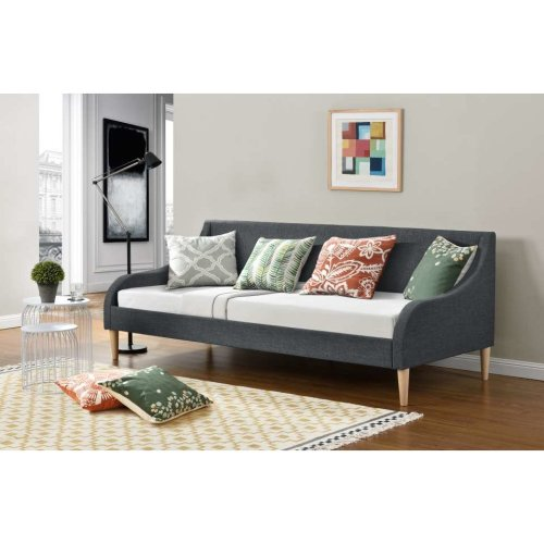 Palms Day Bed Grey Fabric