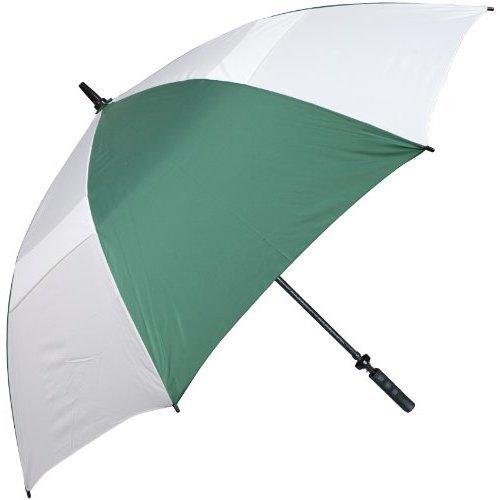 Haas-Jordan Hurricane 345 Auto-Open Umbrella, Pine/White