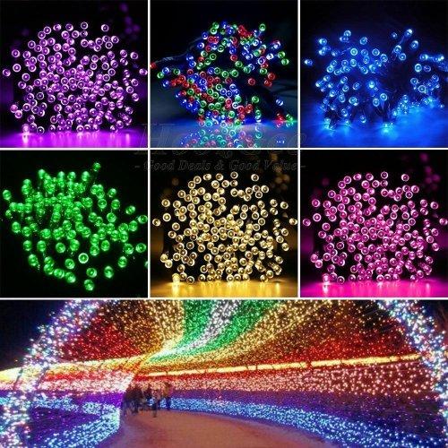 LED Solar Powered String Lights