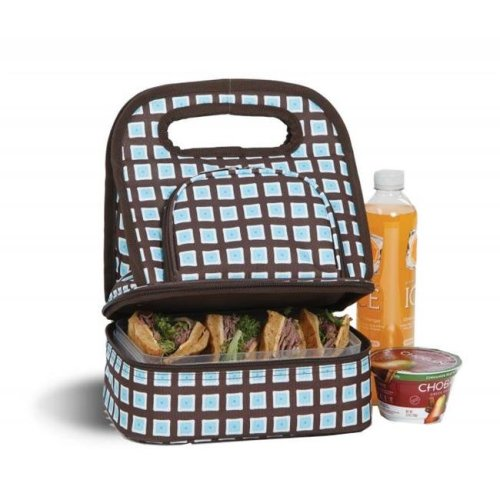 Picnic Plus PSM-144BO Savoy Lunch Bag - Blue Oyster