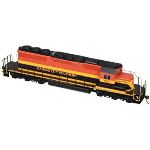 Bachmann Industries EMD SD40 2 DCC Kansas City Southern #691 Ready Locomotive (HO Scale)