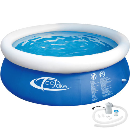 Inflatable Pool with filter