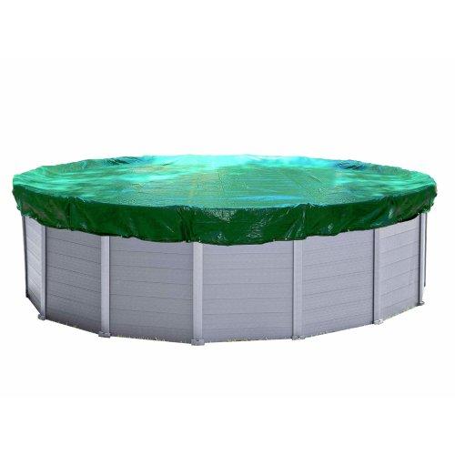Quick-Star 12ft (350-366 cm) Winter Swimming Pool Cover Round Tarpaulin