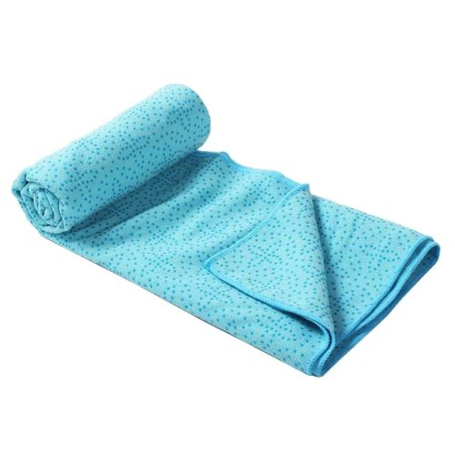 [D] Non-Slip Yoga Towel Sweat Absorbent Yoga Mat Towel Yoga Blanket