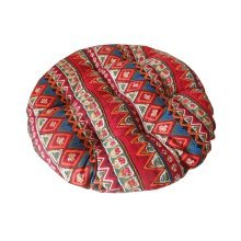 Comfortable Round Chair Cushion Practical Chair Pads, Red