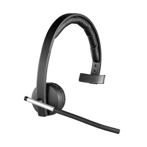 d4c214fc0cf Logitech H820e DECT Monaural Head-band Black headset on OnBuy