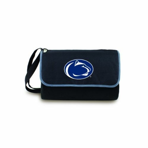 NCAA Penn State Nittany Lions Outdoor Picnic Blanket Tote, Black