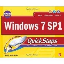 Windows 7 Sp1 Quicksteps (consumer Appl & Hardware - Omg)