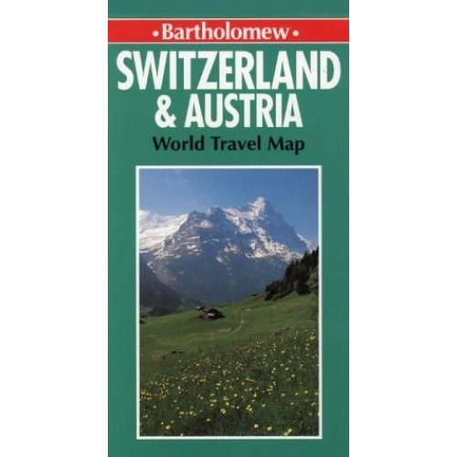 World Travel Map - Switzerland and Austria