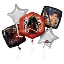 Bouquet:Star Wars Episod VII Birthday - Foil Balloons 3162501