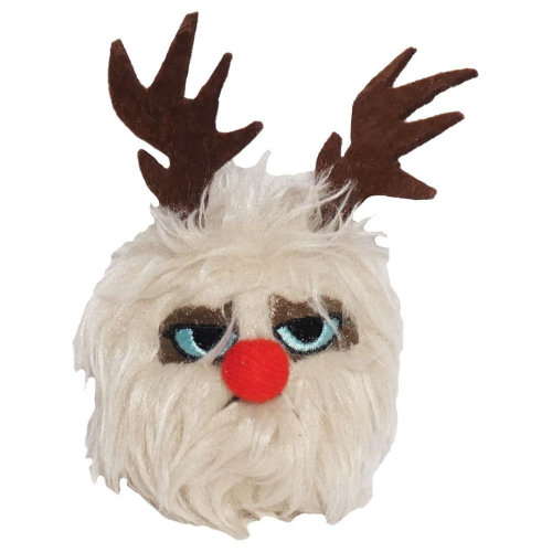 Grumpy Cat Reindeer Ball 11cm (4'')