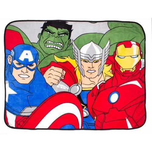 Marvel Avengers 'Force' Coral Fleece Blanket