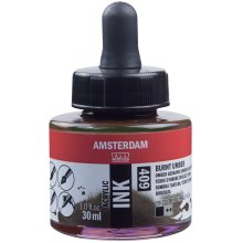 Amsterdam Acrylic Ink 30ml-Burnt Umber
