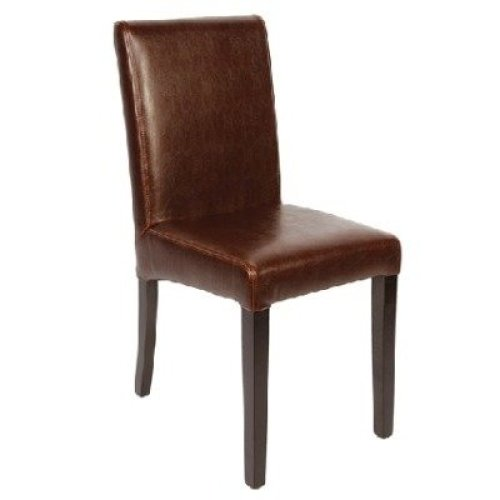 Mallo Leather Chair - Padded