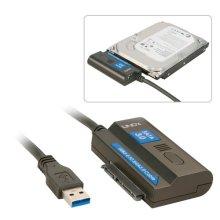 Lindy USB 3.0/SATA 3.0 Black