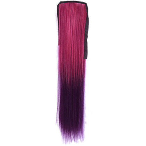 Wig Cauda Equina/Gradient Belt Type False/Long Straight Braided Ponytail(Modena)